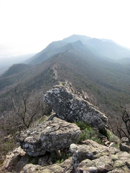 Razorback Ridge - Cathedral Range State Park - Victoria