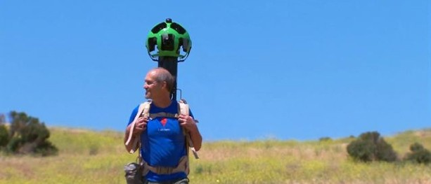 News: Googles Trekker   Street View for Hiking Trails