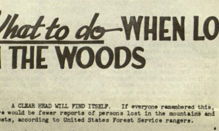 1946 US Forest Service advice still rings true for hikers