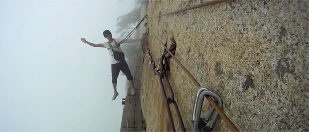 China's Mount Hua Shan – The most dangerous hike in the world?