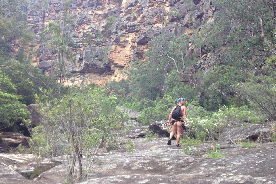 Nude bushwalking - Michael Connolly