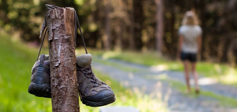 A fraction too much friction: How to prevent foot blisters on your next hike