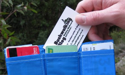 Review: Butterfly Wallet: A lightweight wallet for on or off the trail