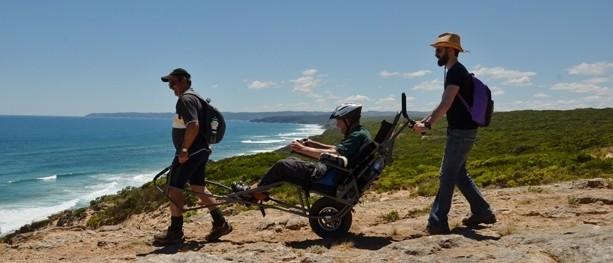 TrailRiding: Hiking for the wheelie