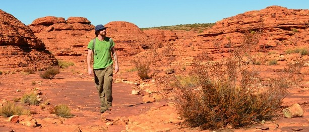 Hiking Kings Creek and the Kings Canyon Rim Walk – Watarrka National Park – Northern Territory