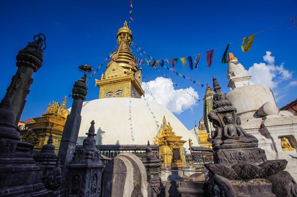 Swayambhunath Monastery in Nepal