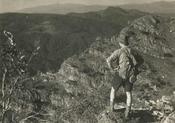Mt. Buffalo from Mt. Howitt [Vic.] (1935)