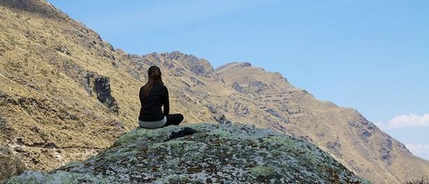 Peru - Trekking from Urubamba 017 - soaking it all in by McKay Savage on flickr