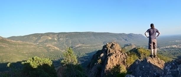 Grampians Sunrise: A dawn hike to (almost) Boronia Peak