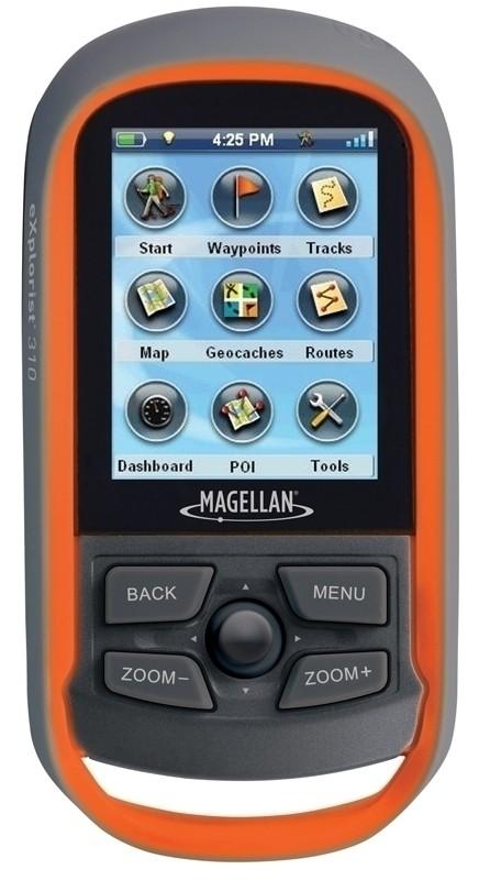 Magellan Explorist 310 GPS Unit Orange & Grey