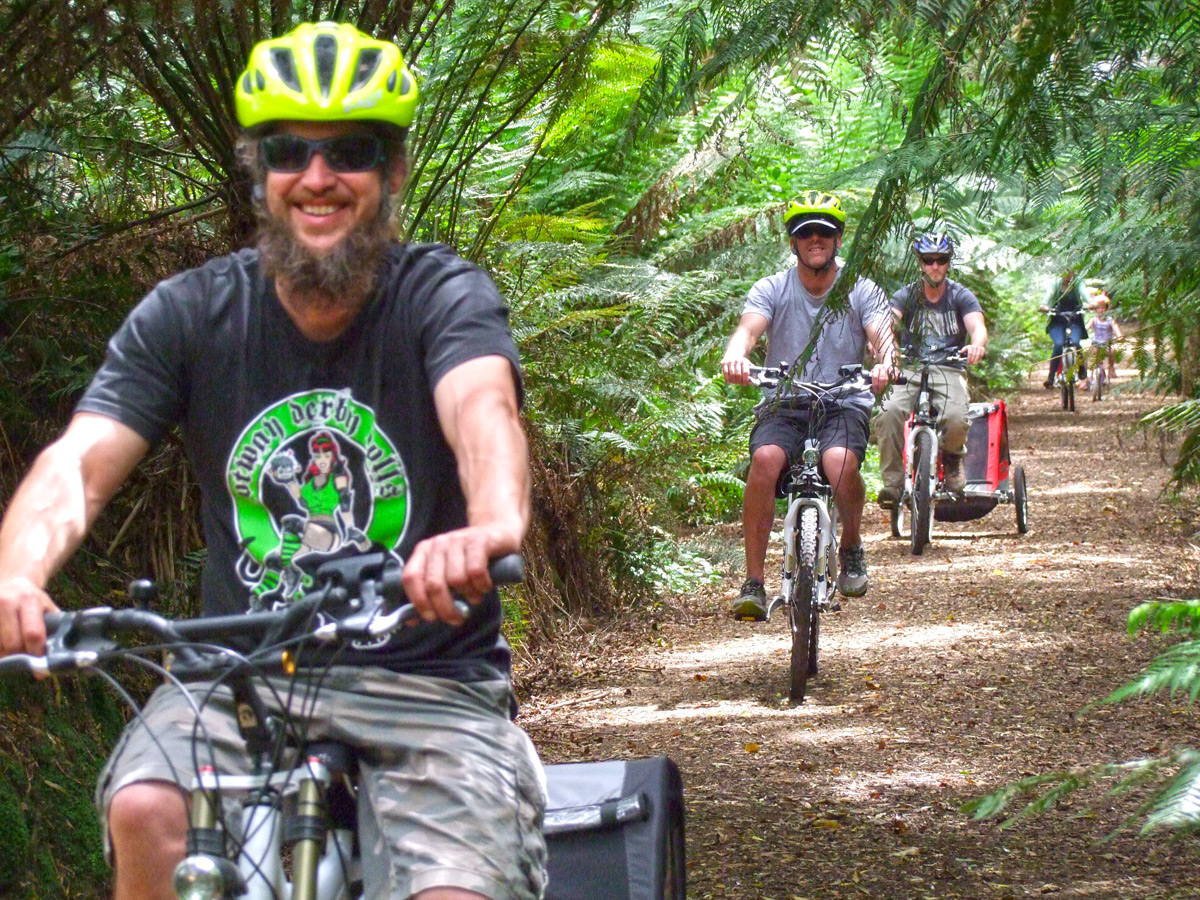 Otway Ebikes - Beechy Rail Trail - Great Ocean Road