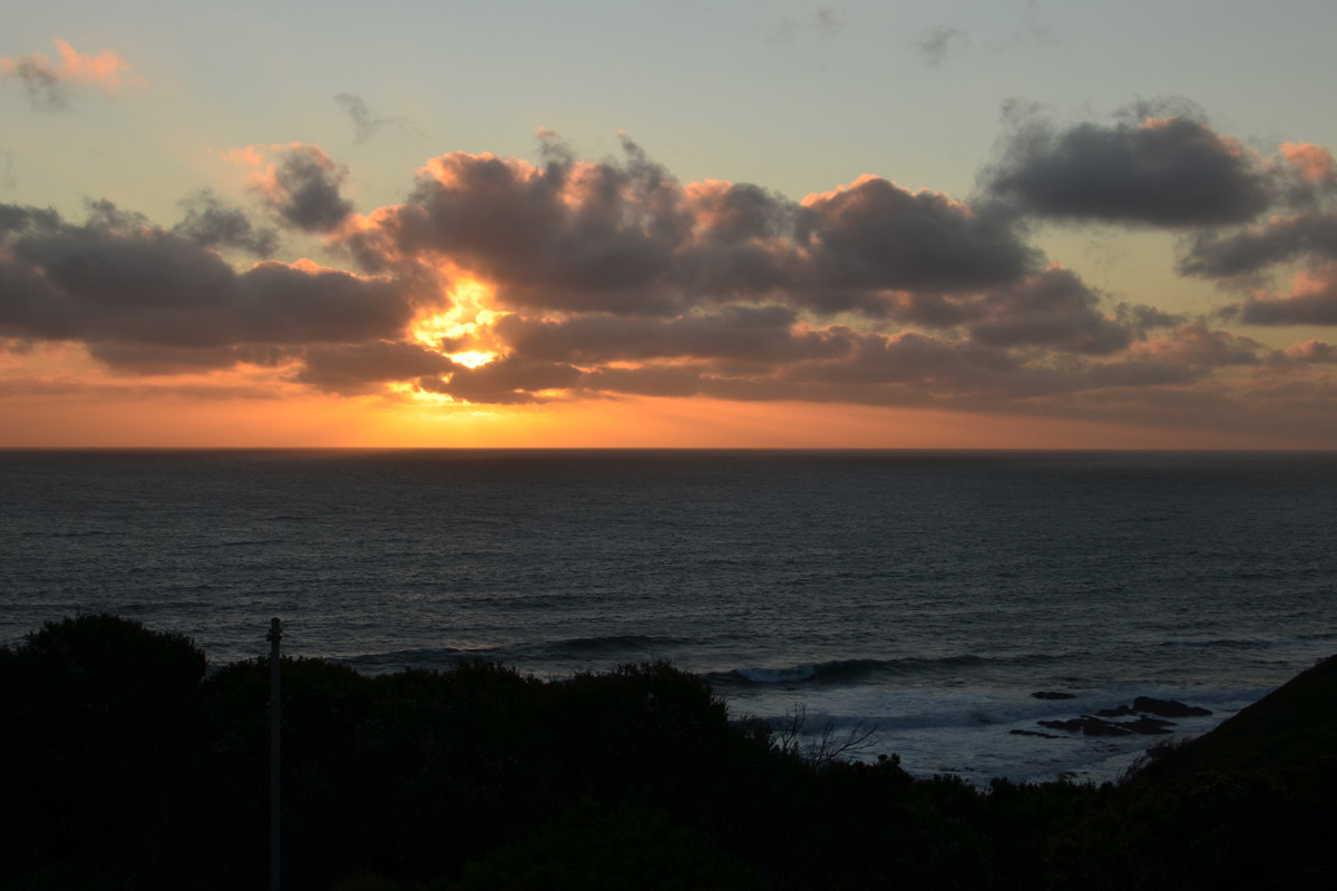 Sunset at Cape Otway