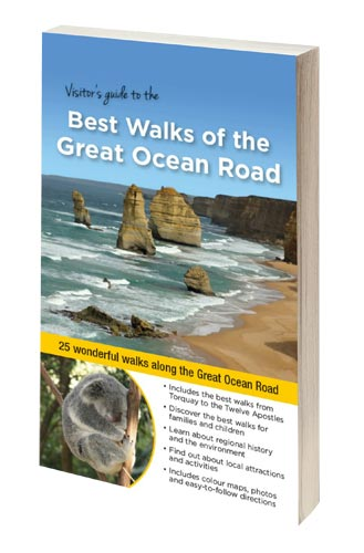 Visitors Guide to the Best Walks of the Great Ocean Road - cover
