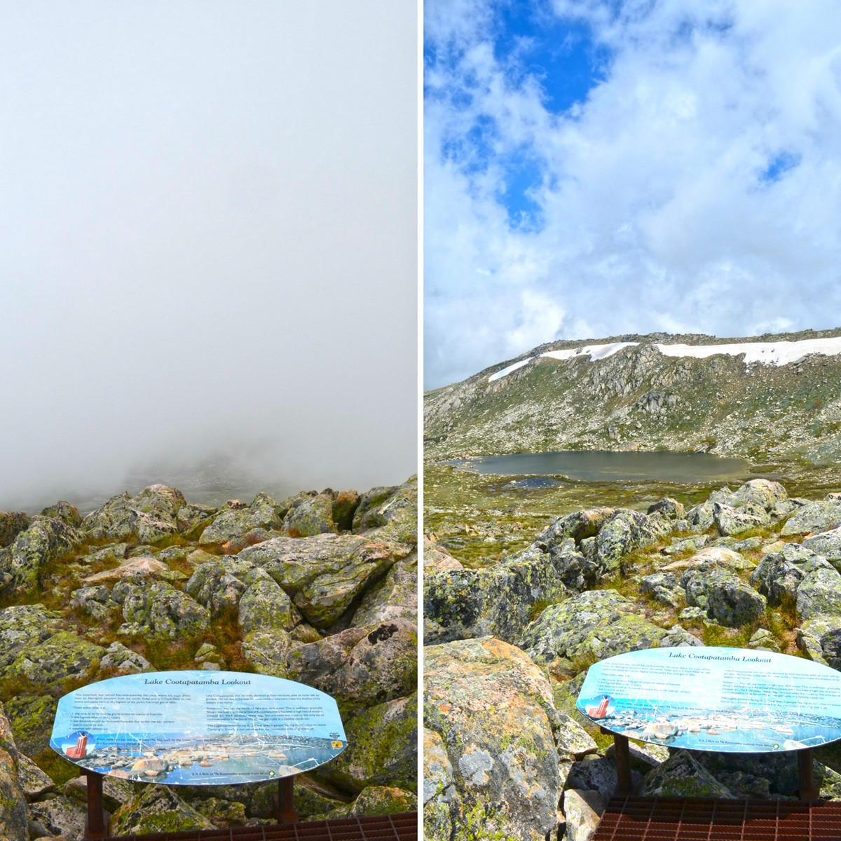 Lake Cootapatamba Lookout - Mount Kosciuszko
