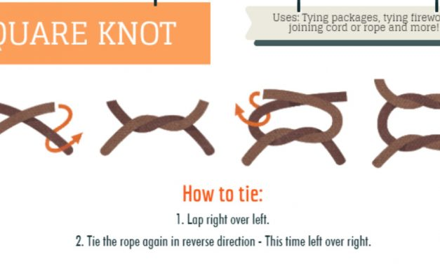 Knots for every occasion (aka. why I wish I'd been a boy scout)