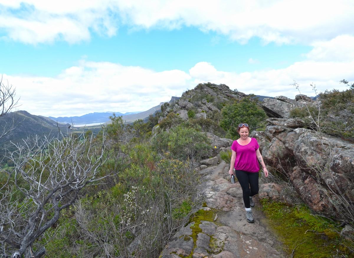 Chatauqua Peak Loop Walk - Grampians National Park - Victoria - Australia