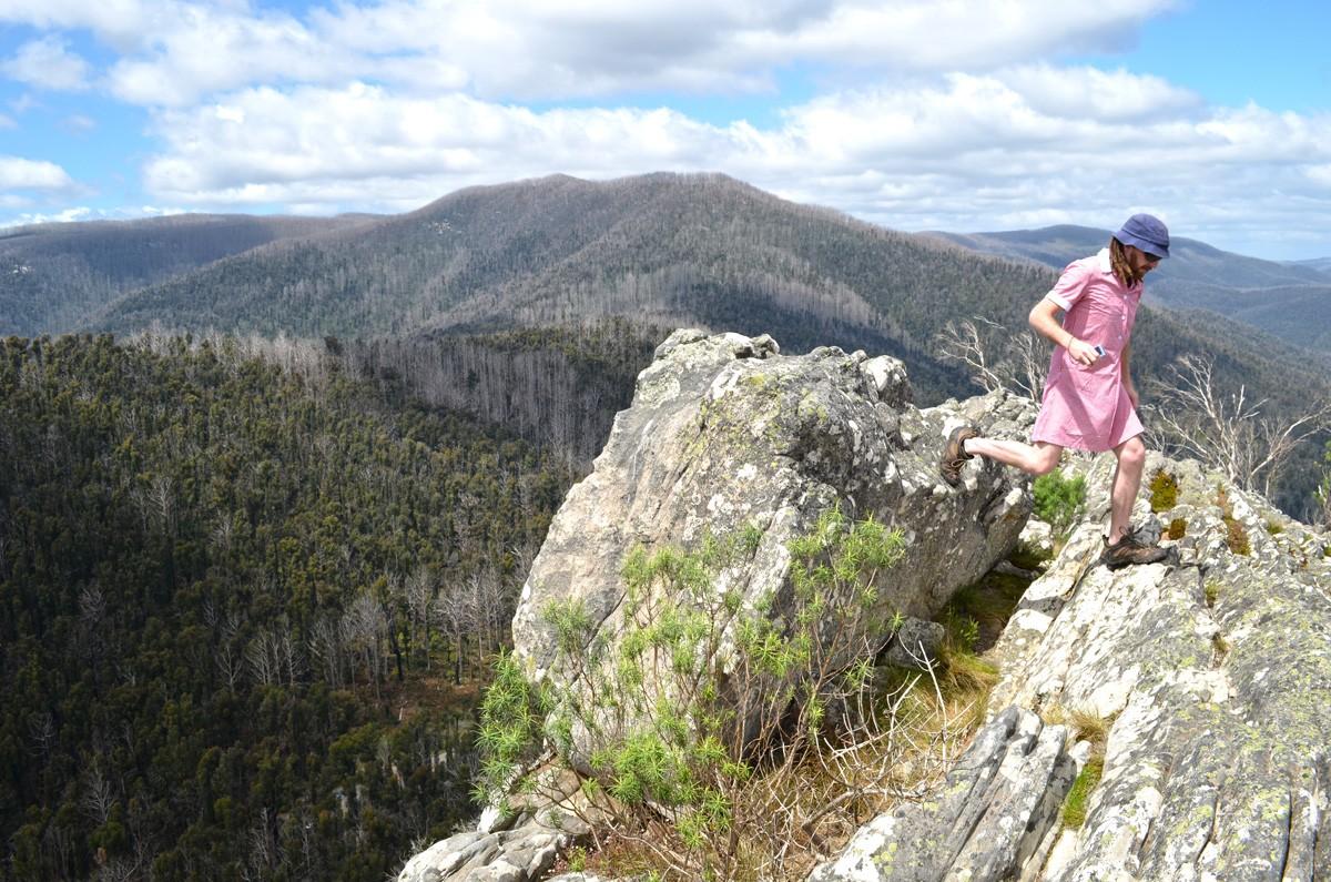 Sugarloaf Peak - Cathedral Range State Park - Victoria