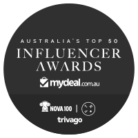 Shortlisted (Top 100): Australia's Top 50 Influencer Awards - Mydeal.com.au