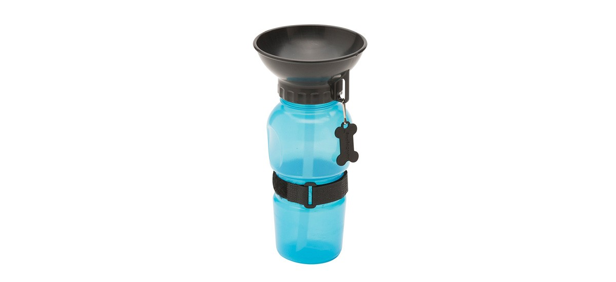 Dog bowl water bottle