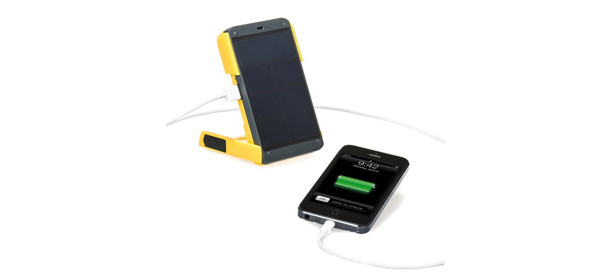Solar powered light & charger