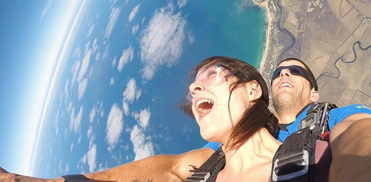 Skydiving the Great Ocean Road
