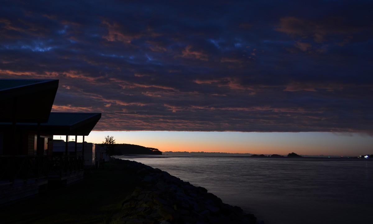 Sunrise at Easts Holiday Park Batemans Bay