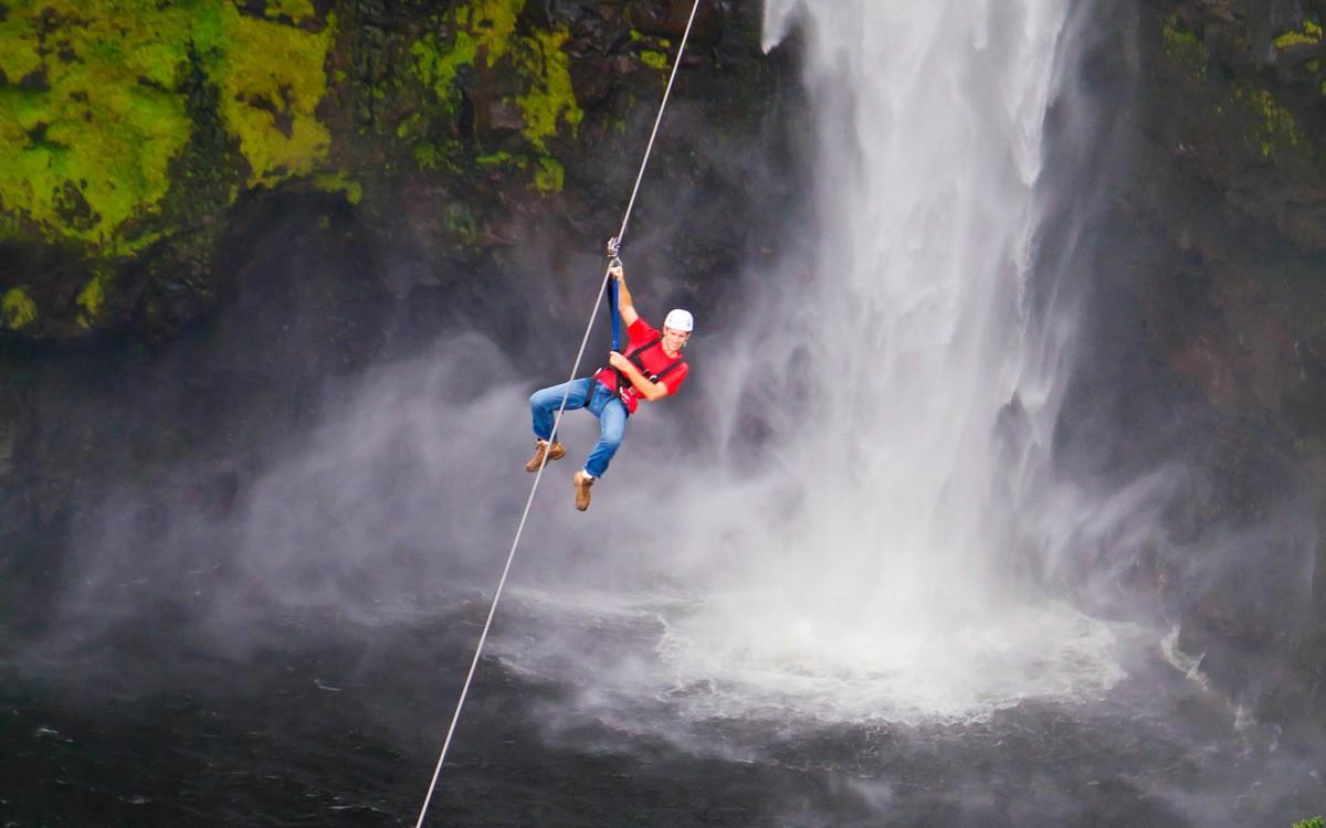 Zipline Hawaii: Akaka Falls