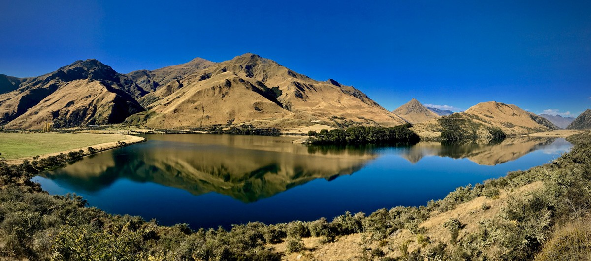 Hike Moke Lake - Queenstown - New Zealand