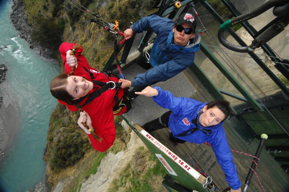 Shotover Canyon Swing - Queenstown