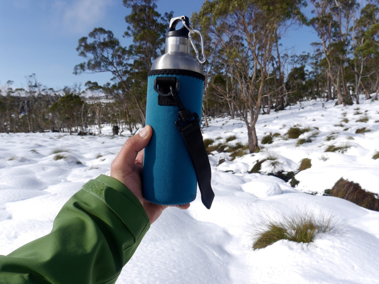 Ecococoon Insulated Water Bottle (with cuddler) Review