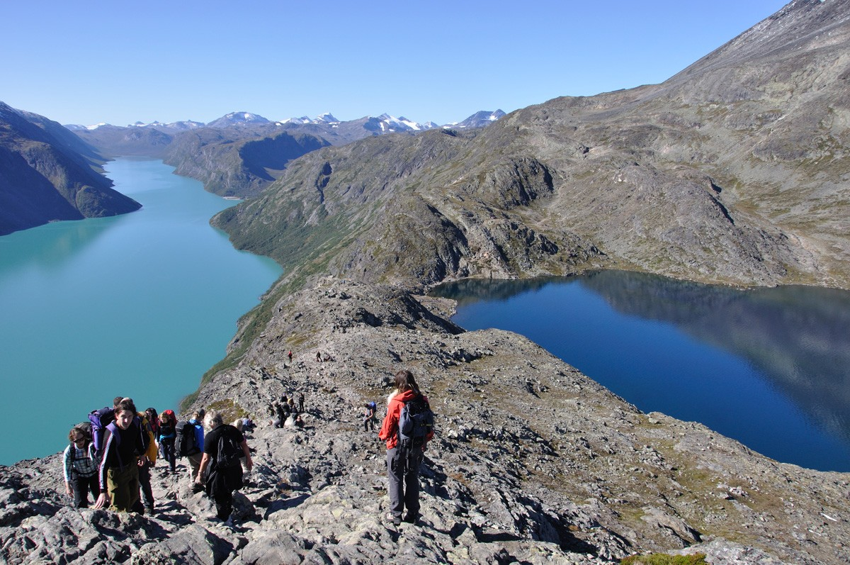 The Jotunheimen Traverse - Besseggen Ridge