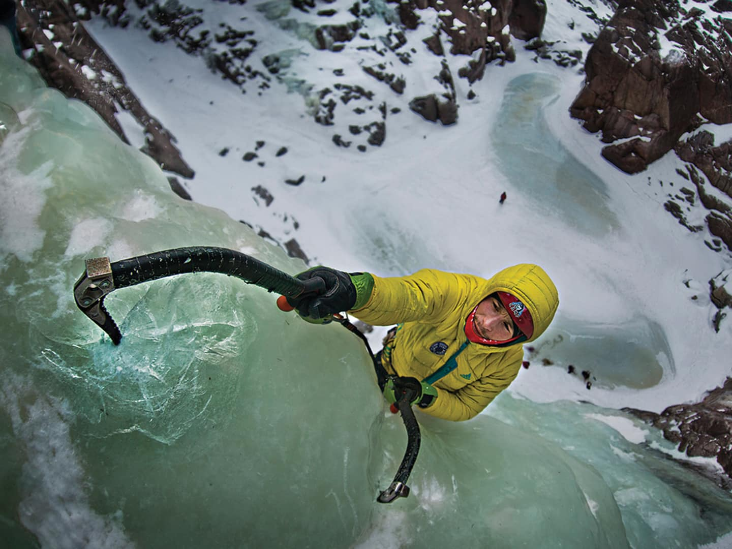 Ice-climb the Rjukan Valley
