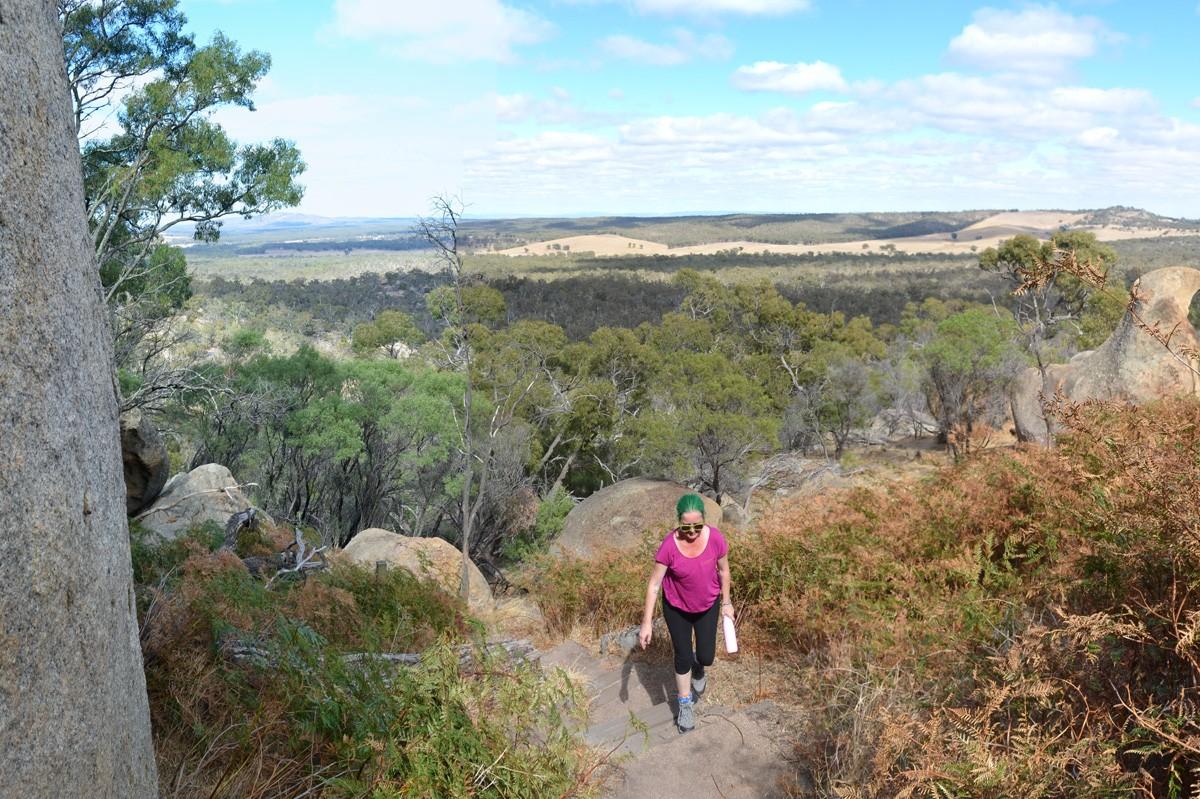 Melville Caves Lookout - Kooyoora State Park - Victoria - Australia