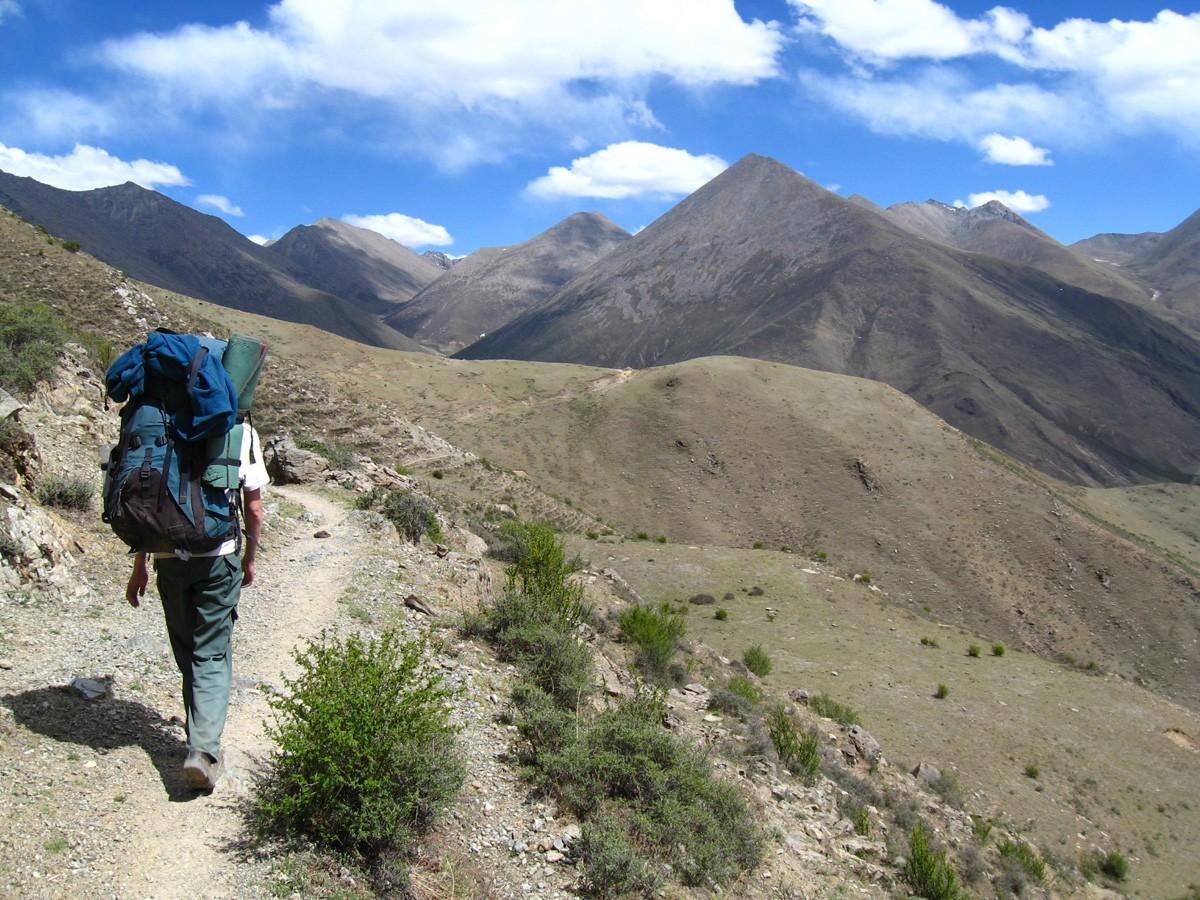 Trekking from Ganden Monastery to Samye Monastery - Tibet