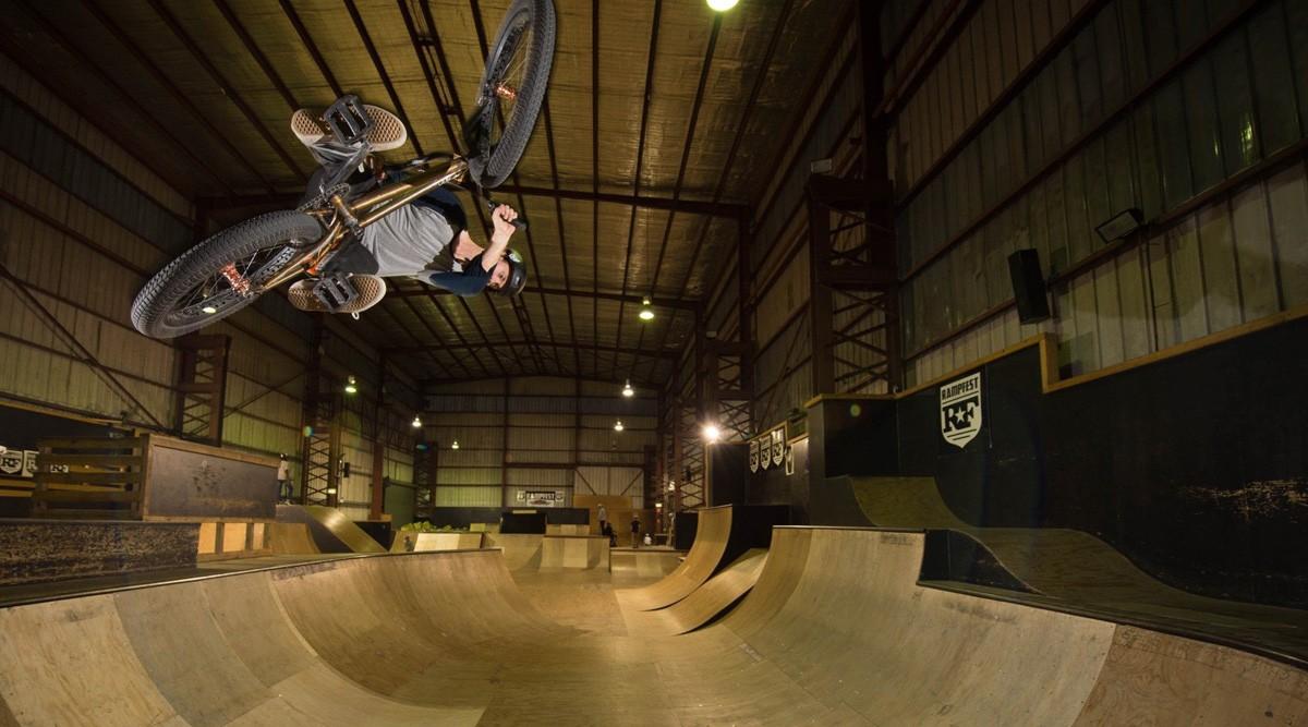 RampFest indoor skate park - Melbourne