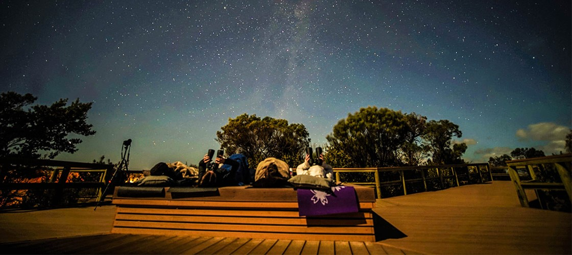 Stargazing at The Pinnacles - Western Australia