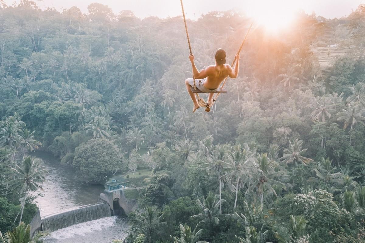 Bali Swing - Ubud, Indonesia