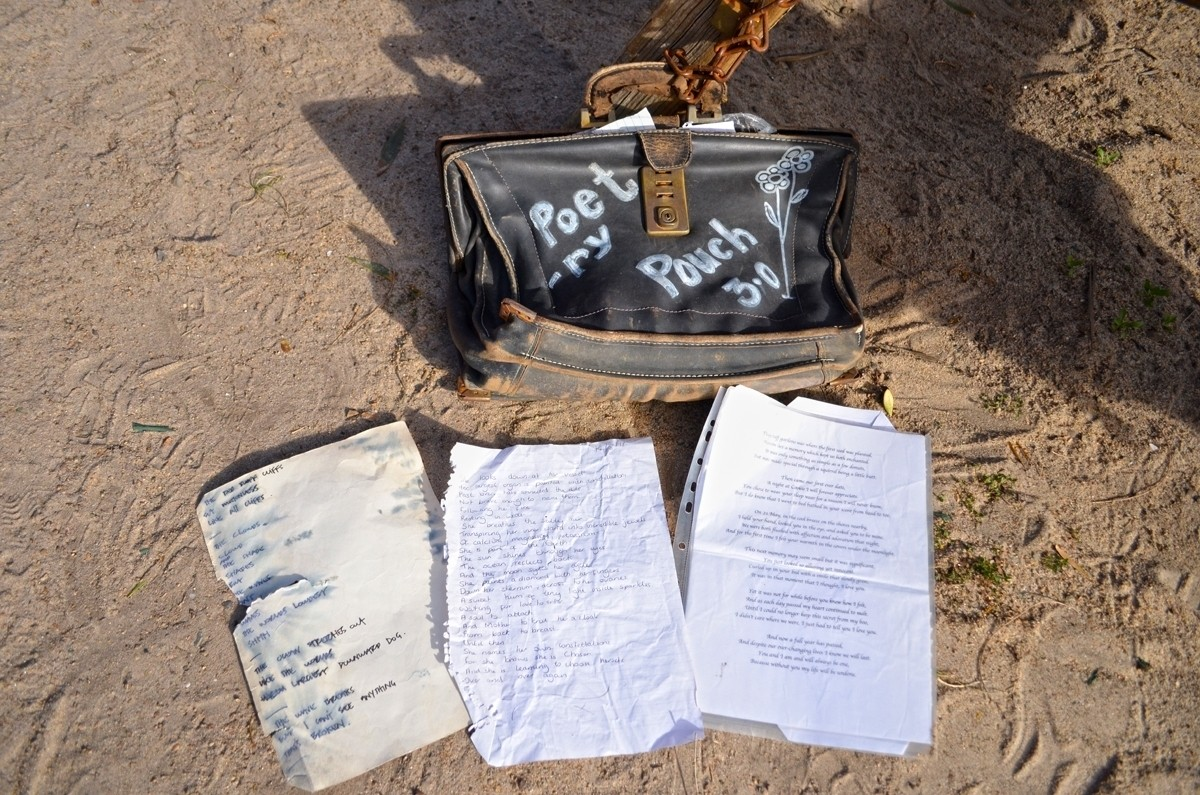 Poetry Pouch - Red Bluff Circuit Walk - Sandringham - Victoria