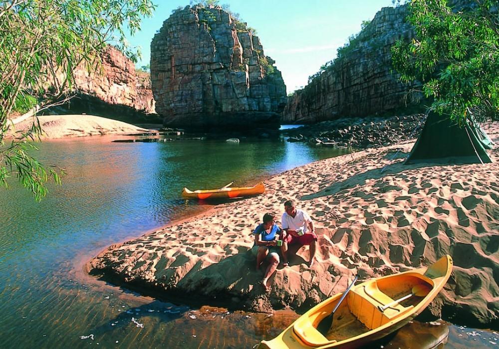 Canoe Nitmiluk Gorge - Northern Territory - Australia