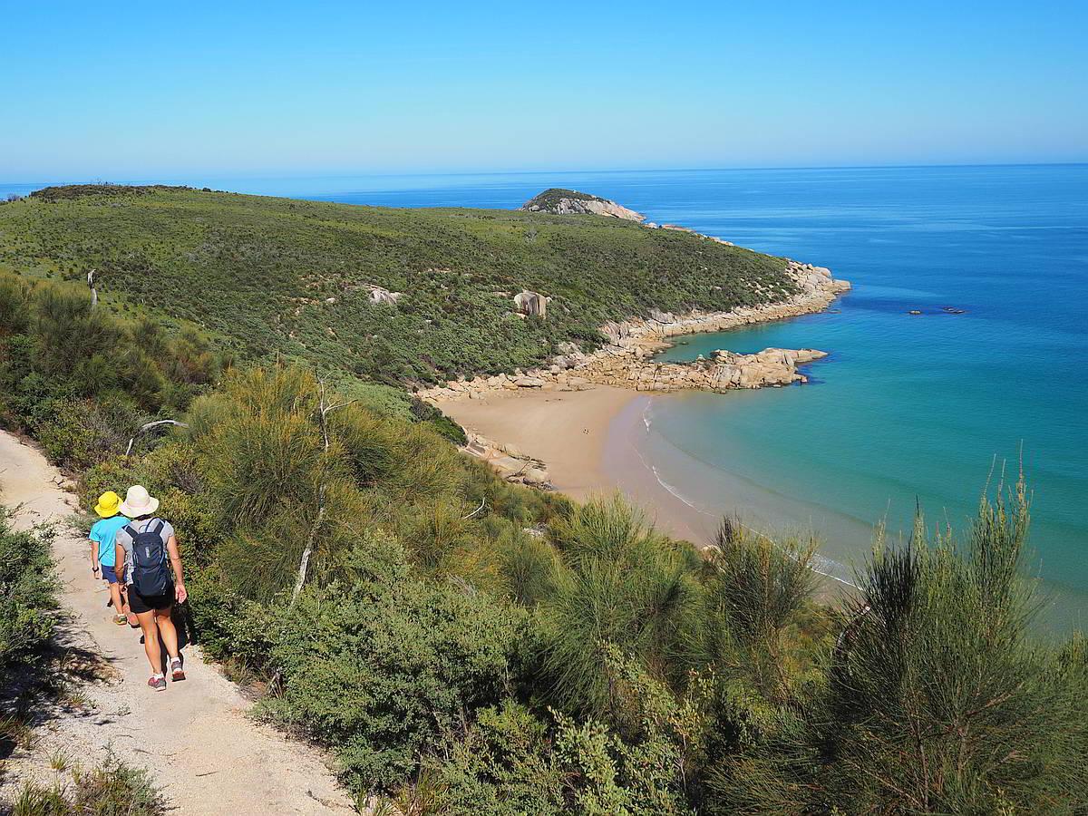 Fairy Cove Hike - Wilsons Promontory National Park - Victoria - Australia