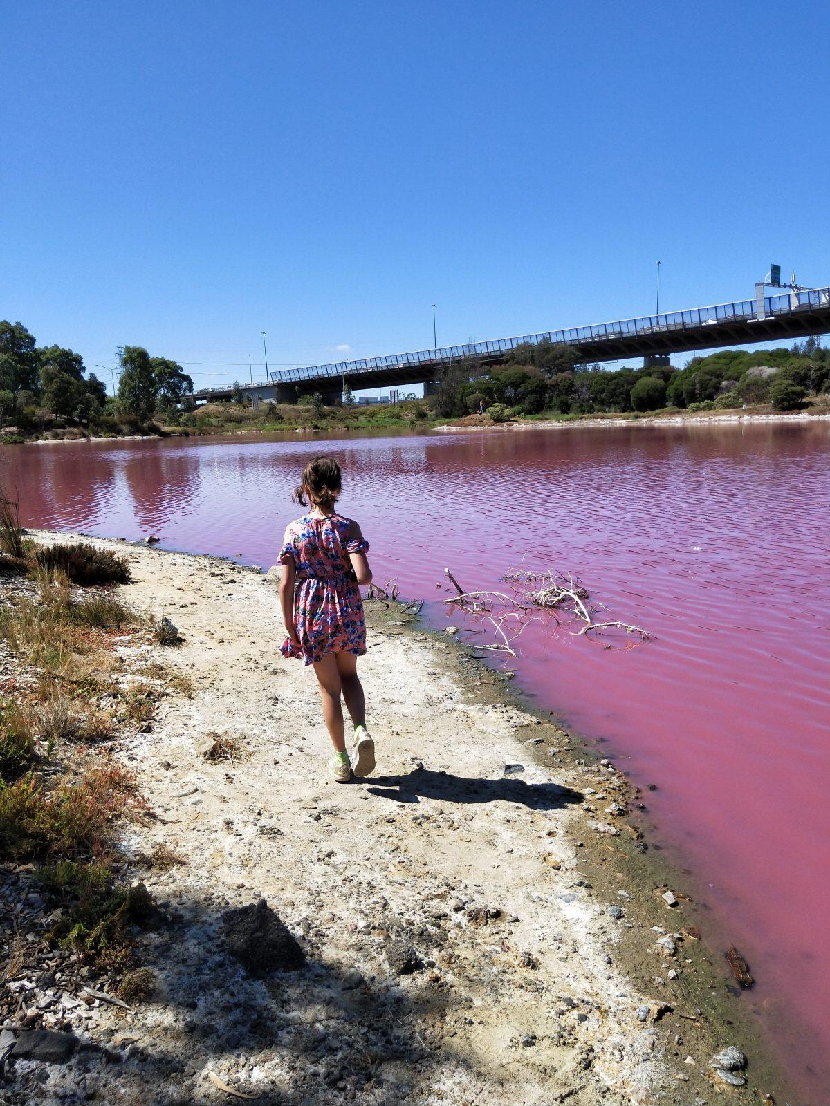 Pink Lake - Westgate Park - Melbourne