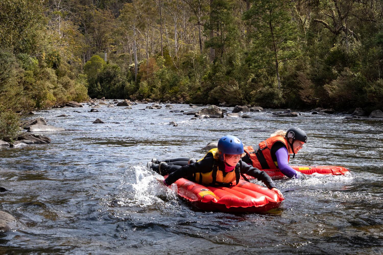 Meander River Sledding - Launceston - Tasmania