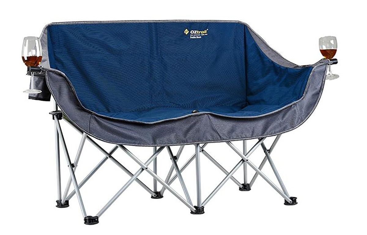 Oztrail Galaxy 2 Seater Camp Chair Review