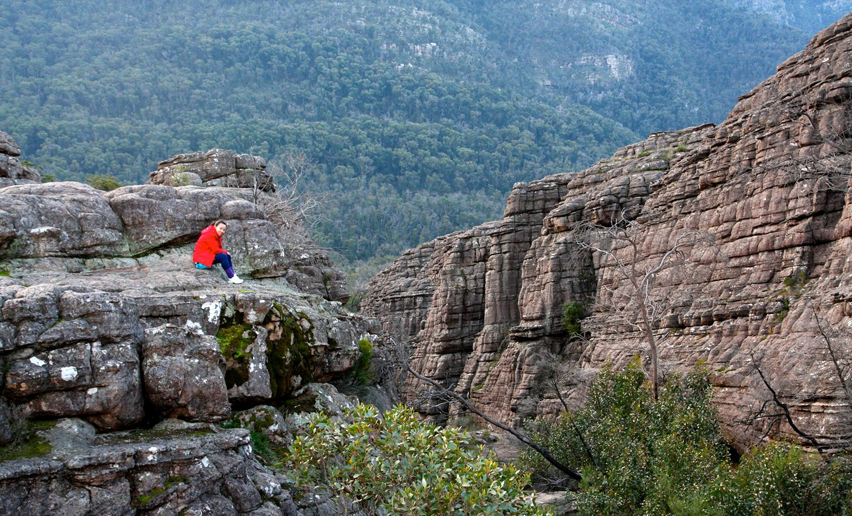 Grand Canyon (en route to The Pinnacle) - Grampians National Park - Victoria - Australia