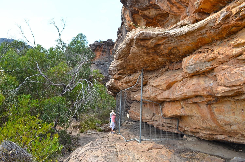 Gulgurn Manja Shelter - Grampians National Park - Victoria - Australia
