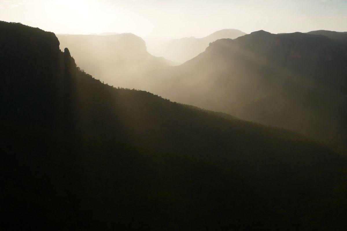 Govetts Leap Descent - Blue Mountains National Park - New South Wales - Australia