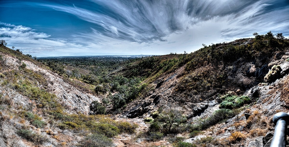 Lesmurdie Falls Walk, Perth Hills
