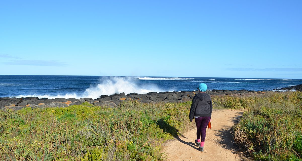 Walking Griffiths Island Reserve (Port Fairy, Victoria)