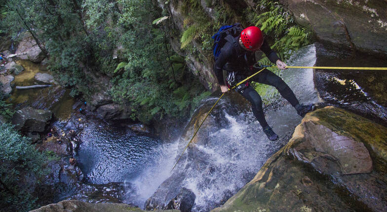 Canyoning - Blue Mountains