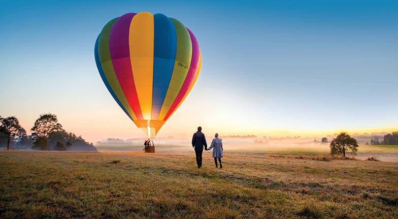 Hot air ballooning - Hunter Valley
